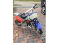 Dr 50 / 100cc 2 stroke mini pitbike very fast