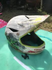 Giro full face mountain bike helmet