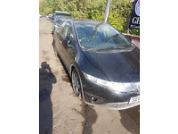 hond civic 2007 1.8 vtec breaking for spares