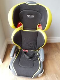 Car seat. Excellent cond. £10. Hardly used.