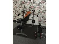 Gym weight bench / v fit
