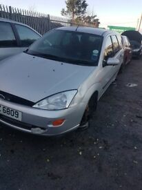 2003 FORD FOCUS ESTATE 1.6 PETROL BREAKING FOR PARTS