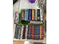 Collection of dvds and box set dvds