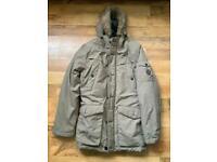 ****REDUCED FOR QUICK SALE****Brand New Men's Stone Threadbare Parka Jacket