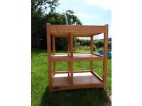 Beautiful mamas and papas changing table - solid wood.