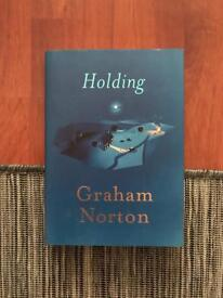 Signed copy of Graham Norton's 'Holding'