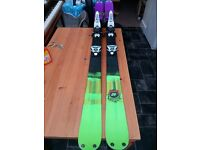 K2 Domain Twin Tip Skis 174cm with Marker Griffon bindings