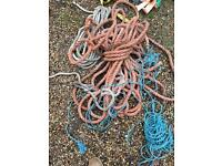 Ropes and straps job lot