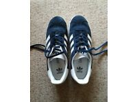 Womens/Junior trainer shoes Adidas Gazelle Navy blue Size 5 (38)