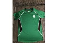 Boys Celtic training top age 10/11