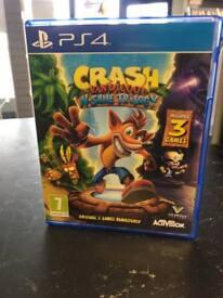 Crash Bandicoot PS4 Games
