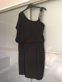 Black dress, size 14