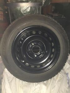 175/65/15 Bridgestone Blizzak WS80  on 5x112 $650OBO