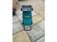Bosch AXT Rapid 2000 garden shredder NEW