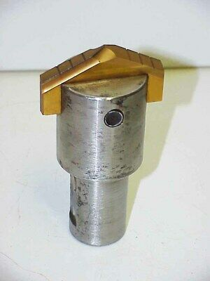"""AME Allied Machine Angle Spade Insert Drill 2-25/32 w/1-3/8"""" Shank Holder for sale  Salem"""