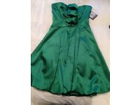 BNWT Emerald green coast dress