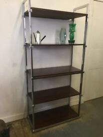 Vintage pieff shelving unit retro