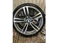 """18"""" BMW 3 Series M Sport replica spare Alloy Wheel - 5x120 - Will fit 318, 320 ect F30"""