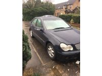 Mercedes c180 Manual petrol open to offers or swap for a van