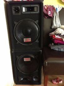 Passive Pa Speakers for sale 300w