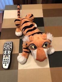 DISNEY STORE STAMPED Jungle Book Tiger Shere Khan soft toy