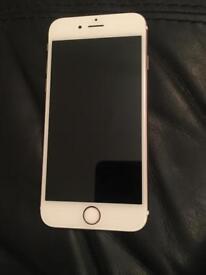 iPhone 6s rose gold, 16gb unlocked