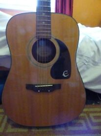 Epiphone-Gibson Acoustic Steel String Guitar