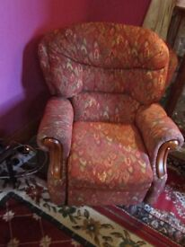 Recliner Chair, manual action