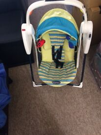 Graco travel baby swing
