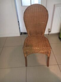 4 x Wicker Chairs