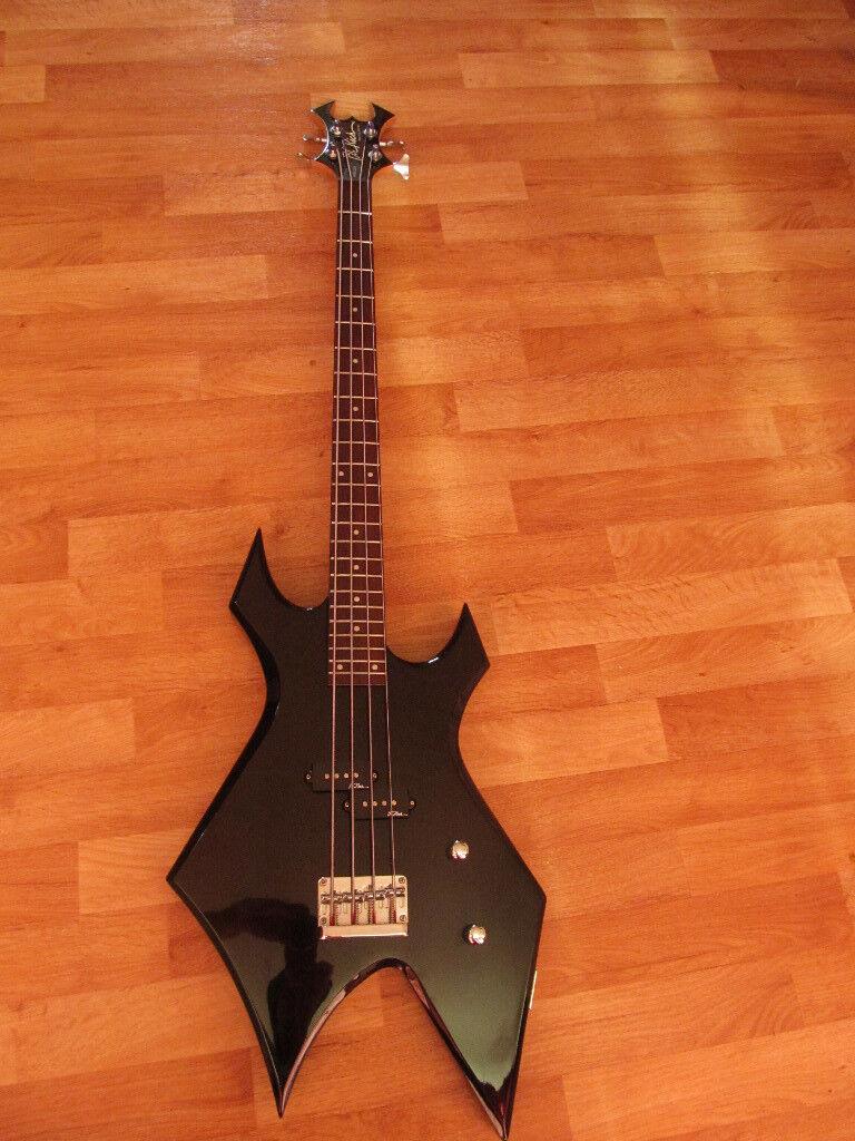 BC Rich Warlock Bass Guitar [WIDOW HEADSTOCK] inc Warwick