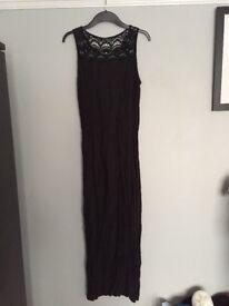 Atmosphere primark long black maxi dress 12