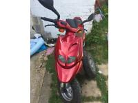 Peugeot trekker 100cc very low mileage for age