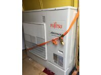 FUJITSU DC INVERTER MULTI SPLIT SYSTEM AS A COMPLETE PACKAGE WITH THREE WALL FANS HOT & COLD