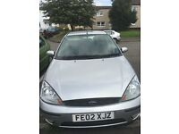 Ford Focus, Silver, Low Mileage 2002, Great car.,very economical.