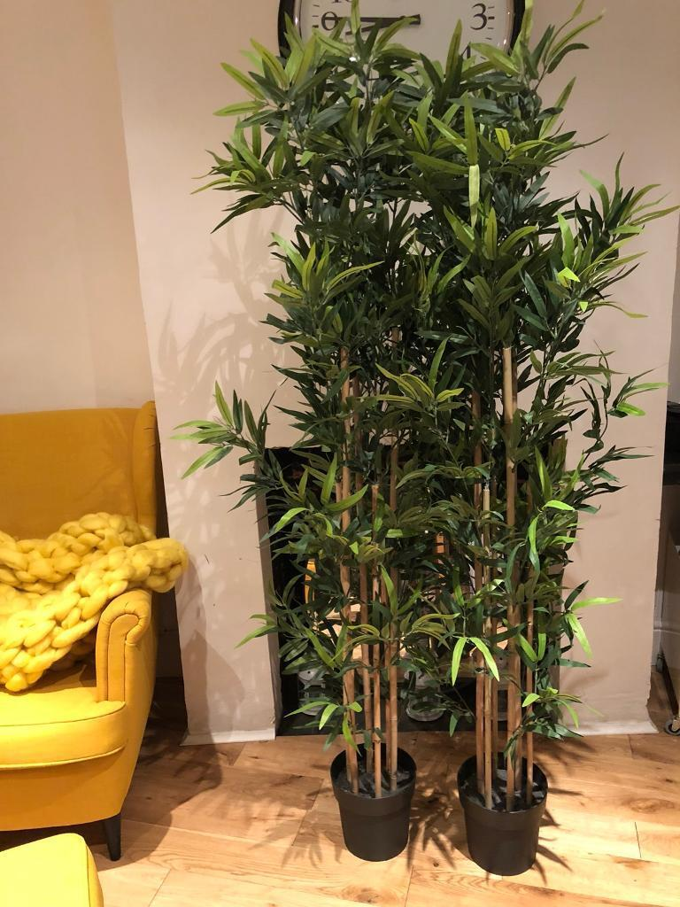 Ikea Artificial Bamboo Plant Fejka X4 In Leytonstone