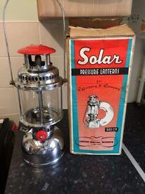 Solar & Anchor Tilley Style Paraffin Kerosene Pressure Lamps