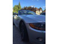 BMW Z4 stunning silver convertible
