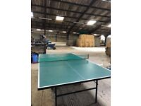Full size foldaway Dunlop Maxply table tennis table