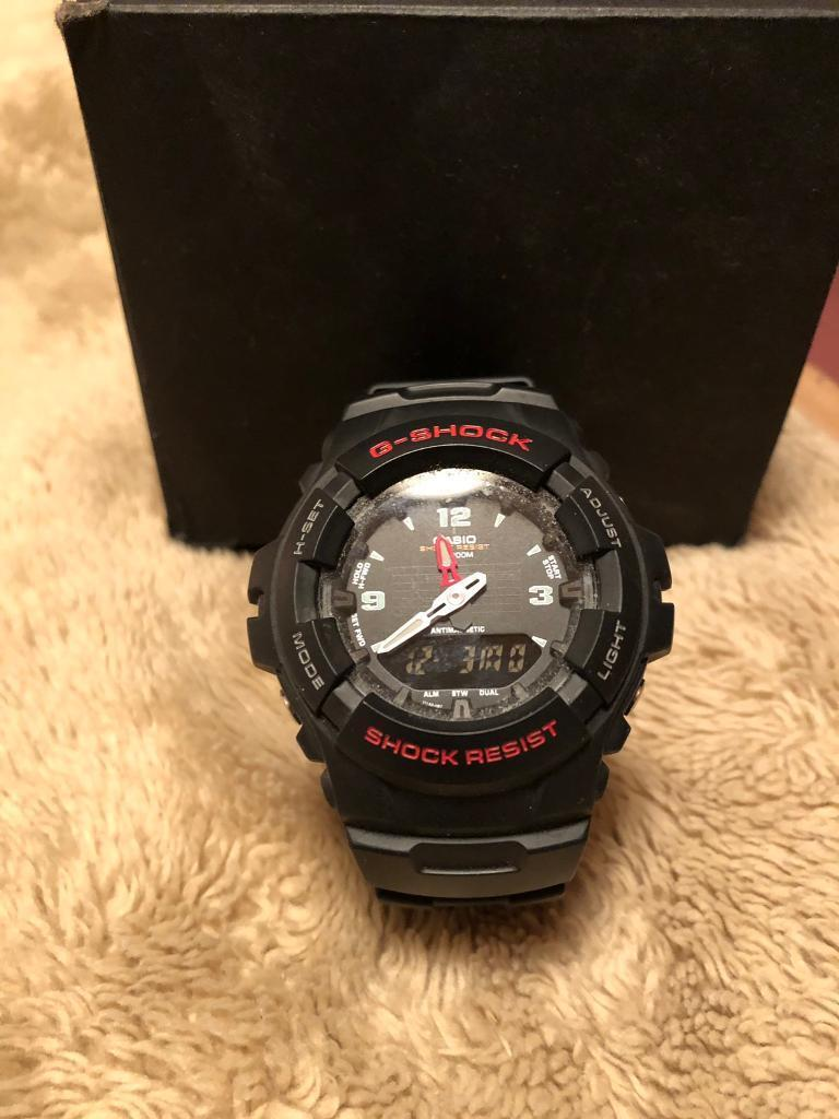 Men S G Shock Watch Black Never Worn 40 Original Box Etc In Newtownabbey County Antrim Gumtree