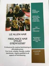 Freelance Hairdresser