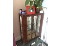 Cabinet display for books, ornaments etc