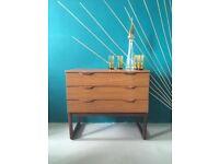 Mid Century Modern Low Drawer Cabinet