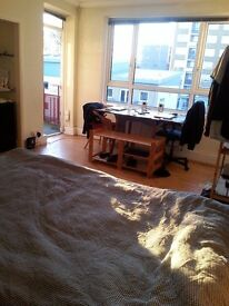 N16 Nice large room & balcony