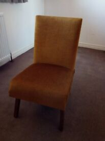 Vintage low bedroom chair