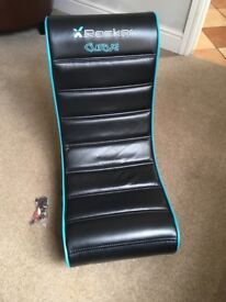 X Rocker Curve kids gaming chair
