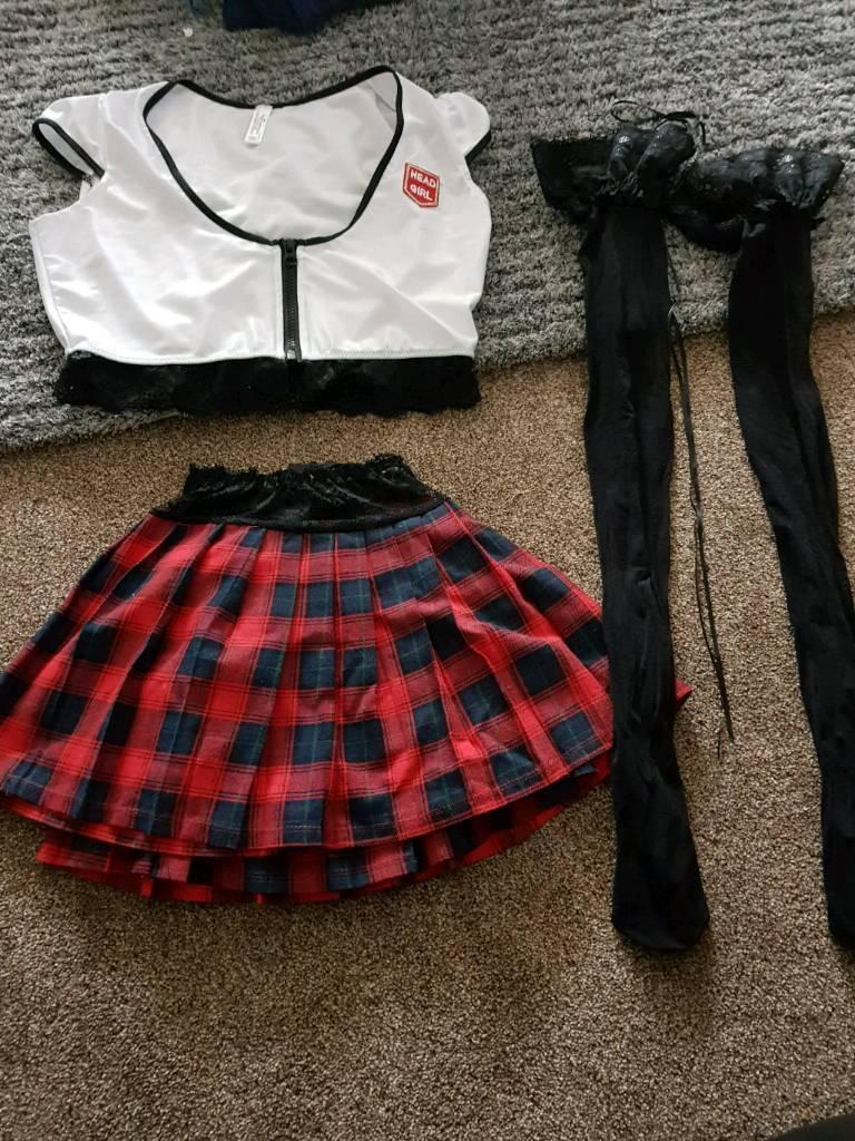 Ann summers head girl outfit 12-14