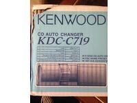 CD CHanger 10 Disc KENWOOD Bran New BOXEDBrand New Xo