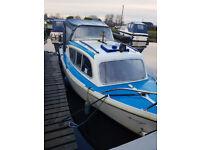 Fairline 19ft Canal Cruiser