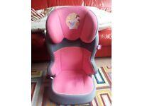 Disney Princess Car seat in pink!